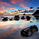 Newdicks Dawn Reflections by Ken Wright