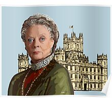 Lady Violet Crawley, Dowager Countess - Downton Abbey Poster