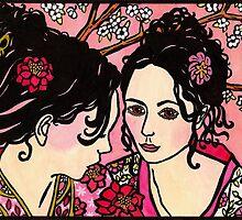 Kimono Girls by genevievem