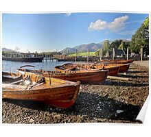 "UK: ""Derwent Water Shoreline"", Cumbria Poster"