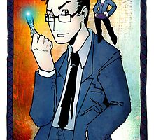 Tenth Doctor by MonkeyManLabs