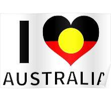 I Heart Indigenous Australia Poster