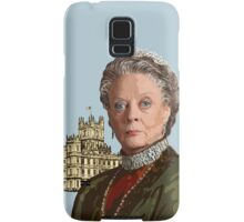 Lady Violet Crawley, Dowager Countess - Downton Abbey Samsung Galaxy Case/Skin