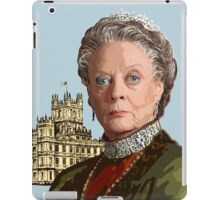 Lady Violet Crawley, Dowager Countess - Downton Abbey iPad Case/Skin