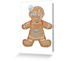 RWBY Gingerbread - Weiss Schnee Greeting Card