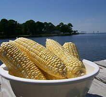 Shucked Corn by vickie willingham
