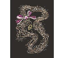 Edwardian Pearls, Bejewelled Ribbon & Padlock Jewellery  Photographic Print