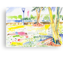Rushcutters Bay Park Canvas Print