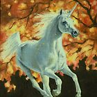 Autumn Unicorn by louisegreen