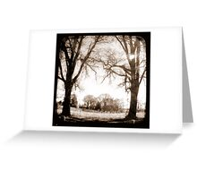 Past & Present Greeting Card