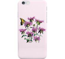 Tiger Swallowtail on Bee Balm iPhone Case/Skin