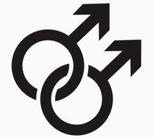 Gay male logo by Designzz
