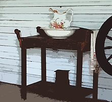 Wash Stand by Judy Gayle Waller