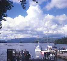 Lake Windermere, Wow!! What a Sky. by Brunoboy