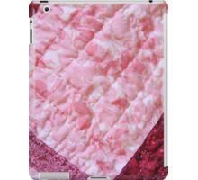 Quilted Flowers iPad Case/Skin