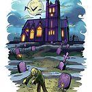 Zombie Graveyard by paulabstruse
