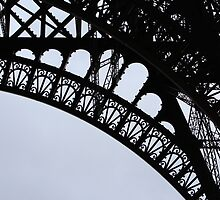 Eiffel Tower Close Up by maderamy