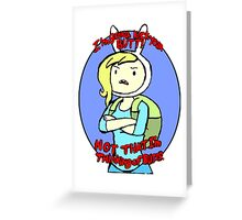 Fionna - Kicking Butts Greeting Card