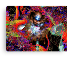 Three Layer Blender #3: Jewel of Denial abstract (UF0366) Canvas Print
