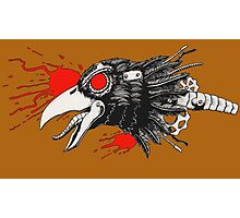 Gearhead Crow Photographic Print