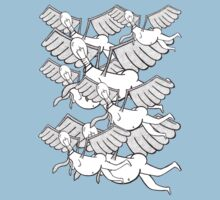Flying Flock by mootuntees