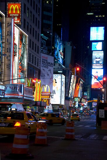 Late Night Times Square by Louis Galli