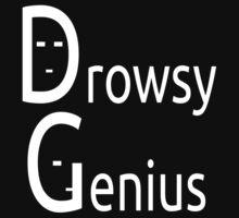 Drowsy Genius (WhiteOnBlackDesign) by AdrianDeBarros