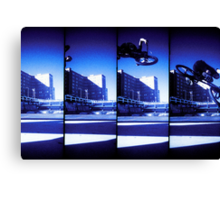 Supersampler Bike Canvas Print