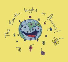 The Earth Laughs in Flowers by Dylan DeLosAngeles