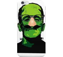 FRANKENSTEIN IN DISGUISE iPhone Case/Skin