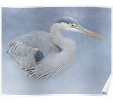 Blue Heron Art - Creativity Poster