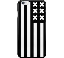 crosses and stripes iPhone Case/Skin