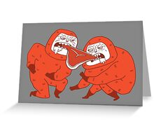 Pork chop dance Greeting Card
