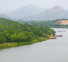 Perfume River, HoiAn by strangers