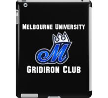 Melbourne University Gridiron Club iPad Case/Skin