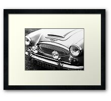 1964 Austin-Healey 3000 Sports Car Framed Print