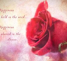 Rose Art - Happiness Shared by Jordan Blackstone