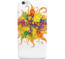 Autism Sun iPhone Case/Skin
