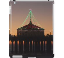 Southern California Pier Dressed Up For Christmas iPad Case/Skin