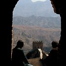 Old Men on the Great Wall of China by Alastair Humphreys