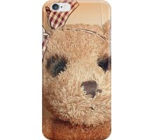 *Teddy with the beautiful eyes* iPhone Case/Skin