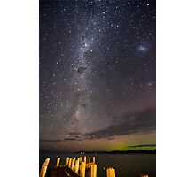 A Walk out under the stars. Photographic Print
