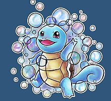 #007 Squirtle by LyocoroUK