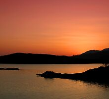 Sunset Inlet by David Hutcheson