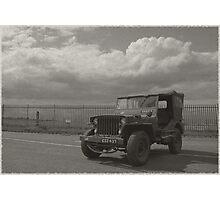 1940's Vintage Jeep Photographic Print