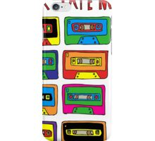 Mix Tape Multi Colour Design iPhone Case/Skin