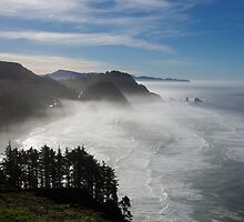 marine layer by Bruce  Dickson