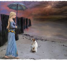Storm Warning- Another Catagory 4 by Hal Smith