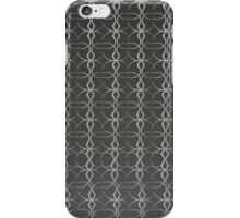 Black and White Background iPhone Case/Skin