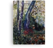 blue plane-tree Canvas Print